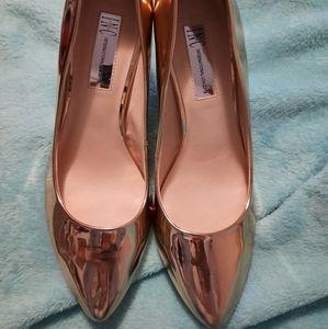 Rose Gold INC 8.5 heels